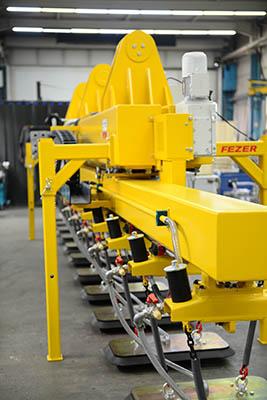 מתקן הרמה בואקום להרמת מוצרים כבדים